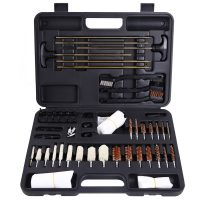 Ohuhu Gun Cleaning Kit 58 Pieces Hand Gun, Rifle & Shot Gun Cleaning Kits Tool Set with Carrying Case
