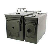 Redneck Convent Metal Ammo Case Can