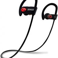 SENSO Bluetooth Wireless Sports Earphones Stereo Sweatproof Earbuds