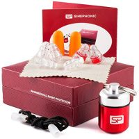 SINEPHONIC Earplugs kit for Hearing Protection