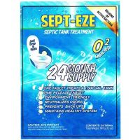 Sept Eze America's BEST Septic Tank Treatment 24 month Supply