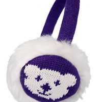 Simplicity Women's Knitted Faux Fur Plush Earmuffs