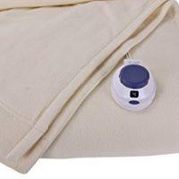 Soft Heat Luxury Micro-Fleece Low-Voltage Electric Heated Blanket