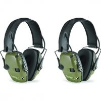 Two Pack Howard Leight R-015226 Impact Sport Electronic Earmuff Set