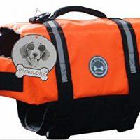 Vivaglory Adjustable Lifesaver Dog Life Jacket